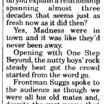 Madness - Express & Star review