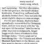 Madness - Guardian review