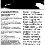 Madness - Manchester Metro interview